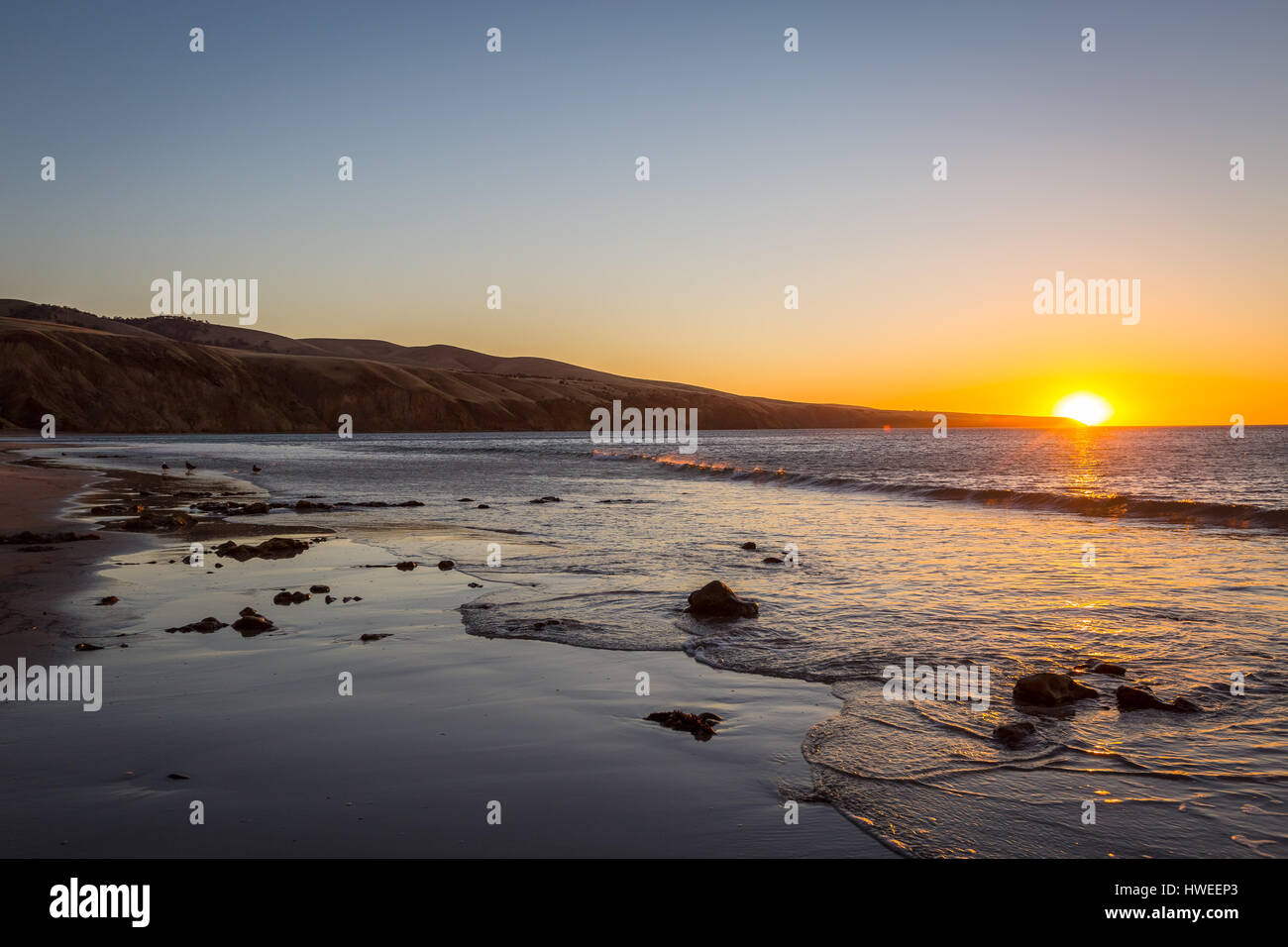 Sellicks Beach, South Australia - Stock Image