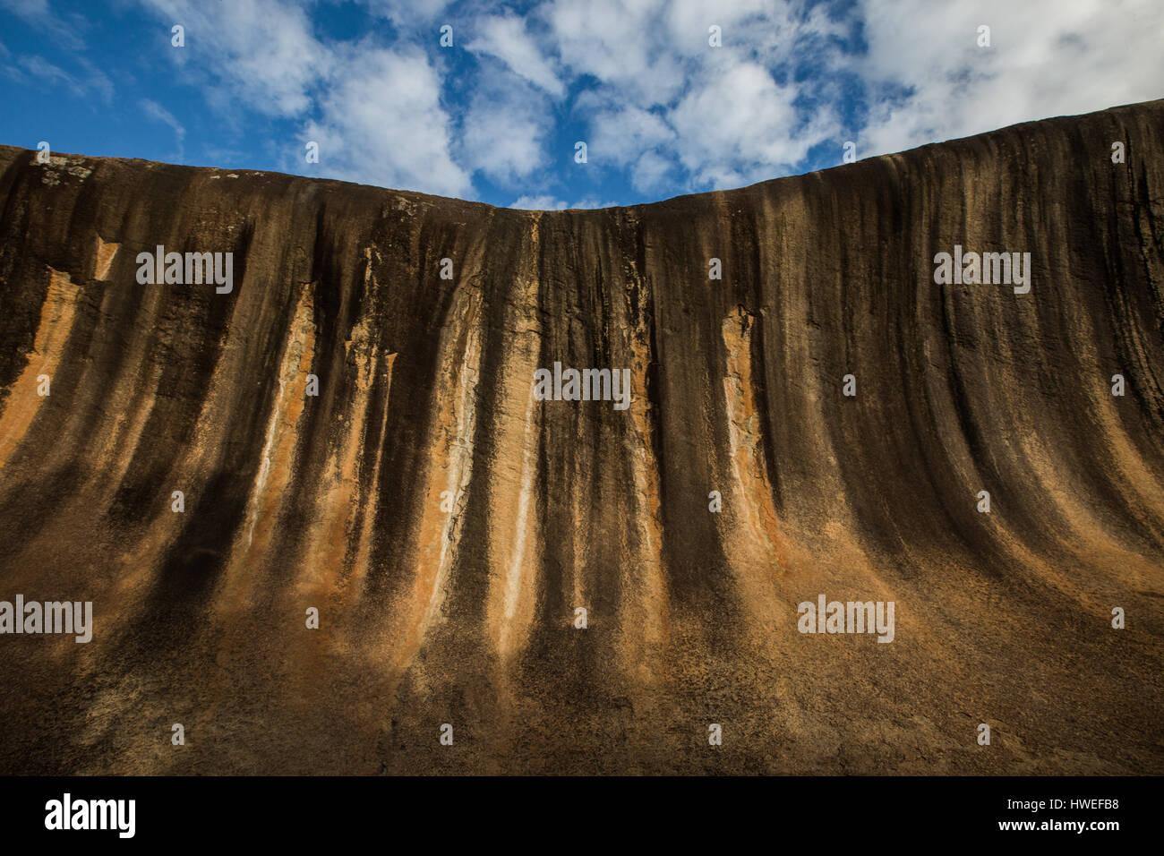 Wave Rock, Western Australia Stock Photo