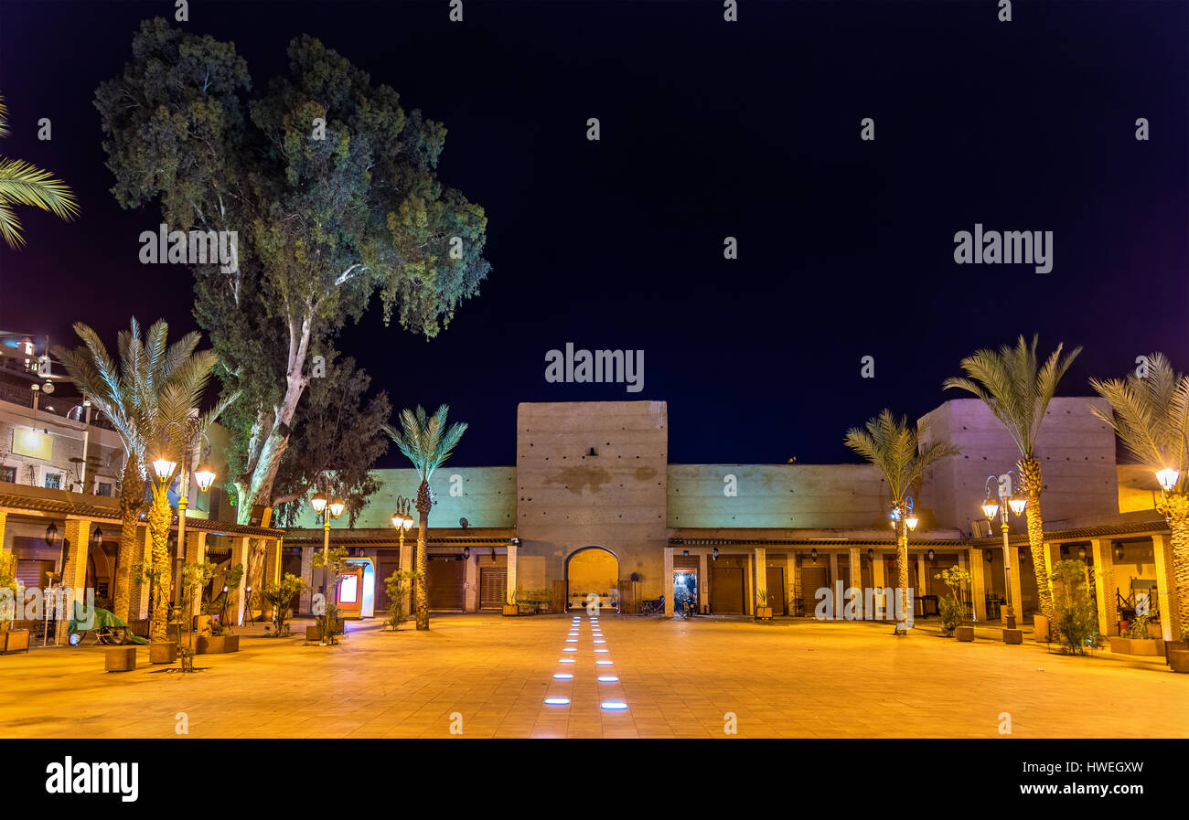 Carre de Ferblantiers, a square in Marrakesh, Morocco Stock Photo