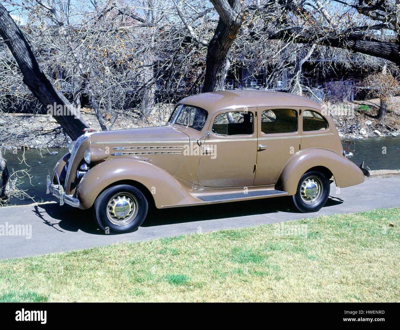 1936 Hudson 64 De Luxe 8 - Stock Image