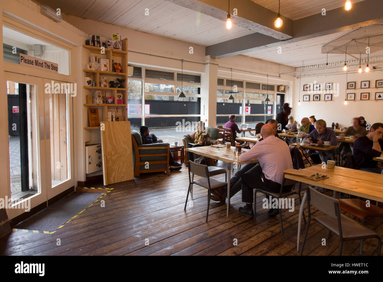 Busy Day In Cardiff Coffee Shop Little Man Coffee Company