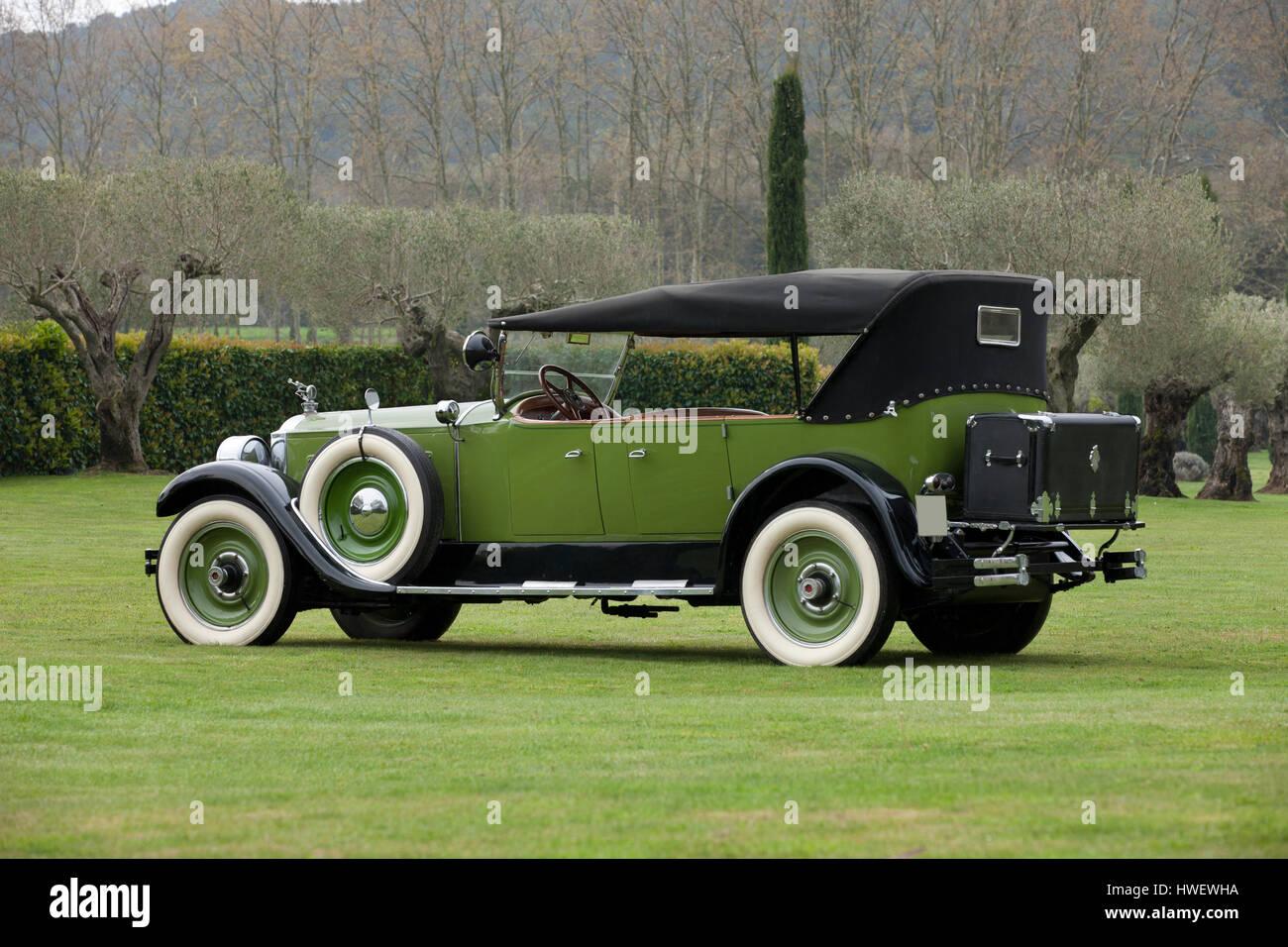 1926 Packard Eight 243 7-Passenger Touring Stock Photo