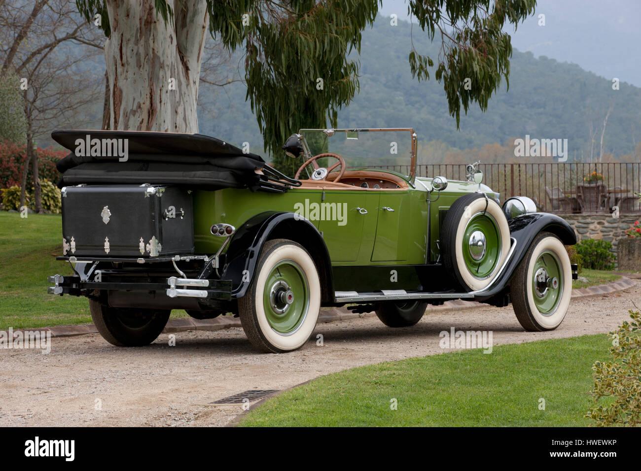 1926 Packard Eight 243 7-Passenger Touring - Stock Image