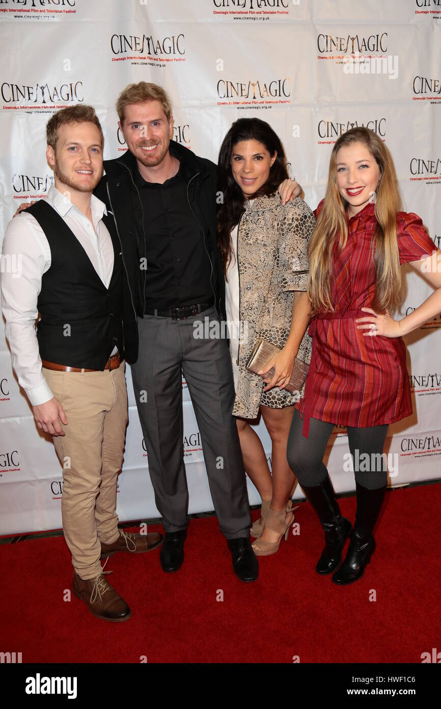 Cinemagic Los Angeles showcase preview of 'Chancer' at Fairmont Miramar Hotel - Arrivals  Featuring: Malady - Stock Image
