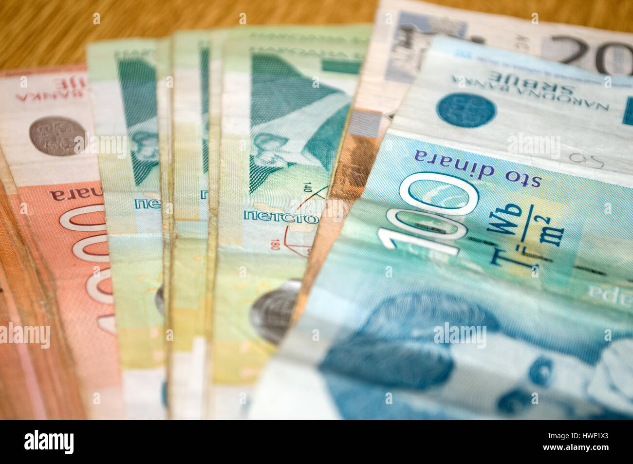 Serbian Currency Stock Photos Serbian Currency Stock Images Alamy