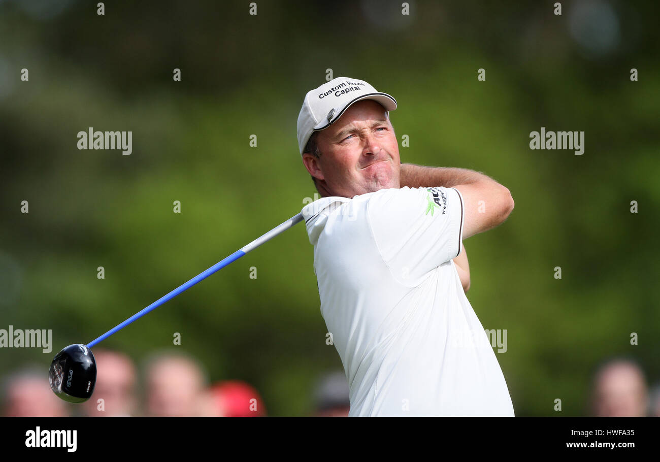 DAMIAN MCGRANE IRELAND IRELAND WENTWORTH CLUB SURREY ENGLAND 21 May 2010 - Stock Image