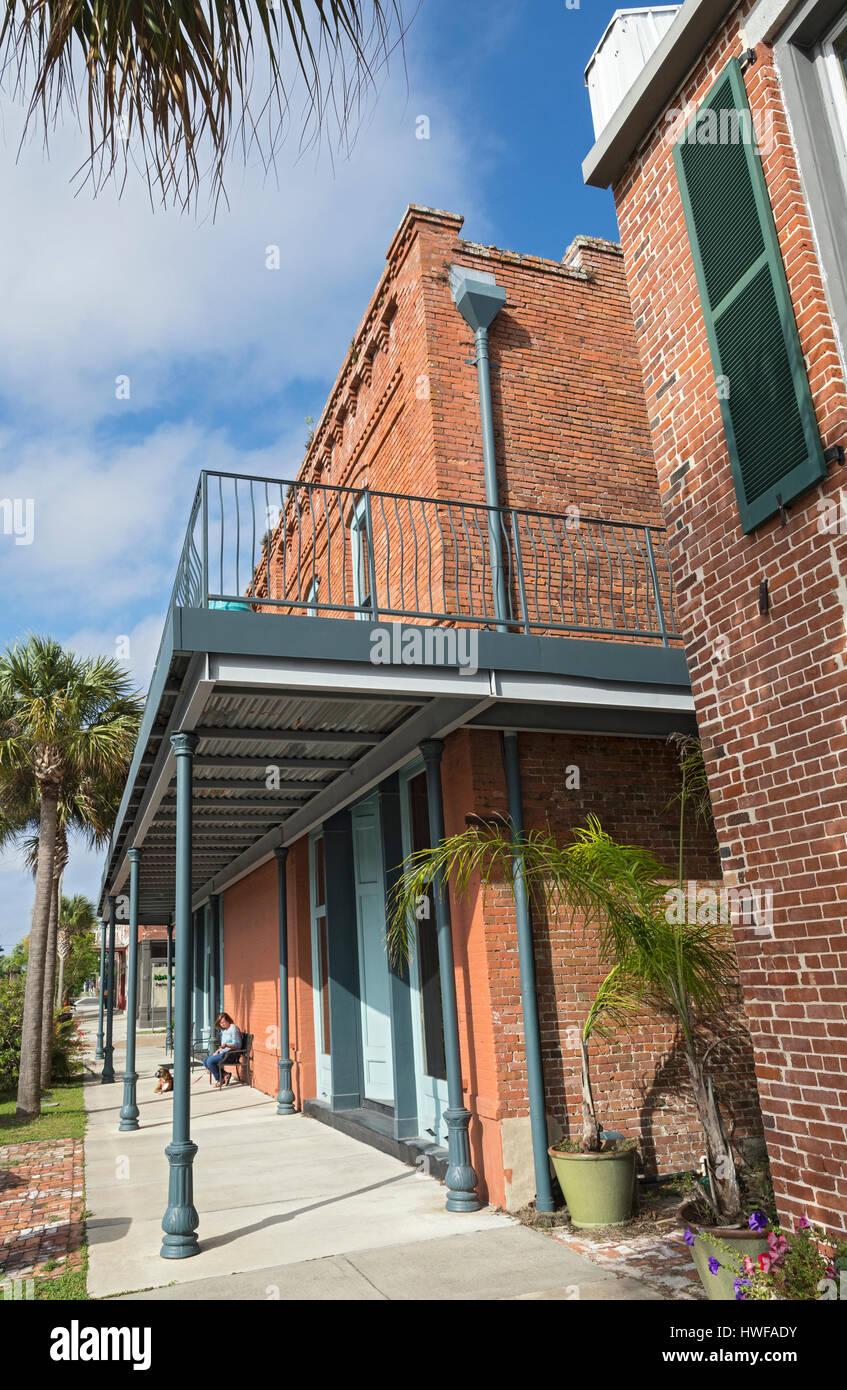 Florida, Apalachicola Historic District - Stock Image