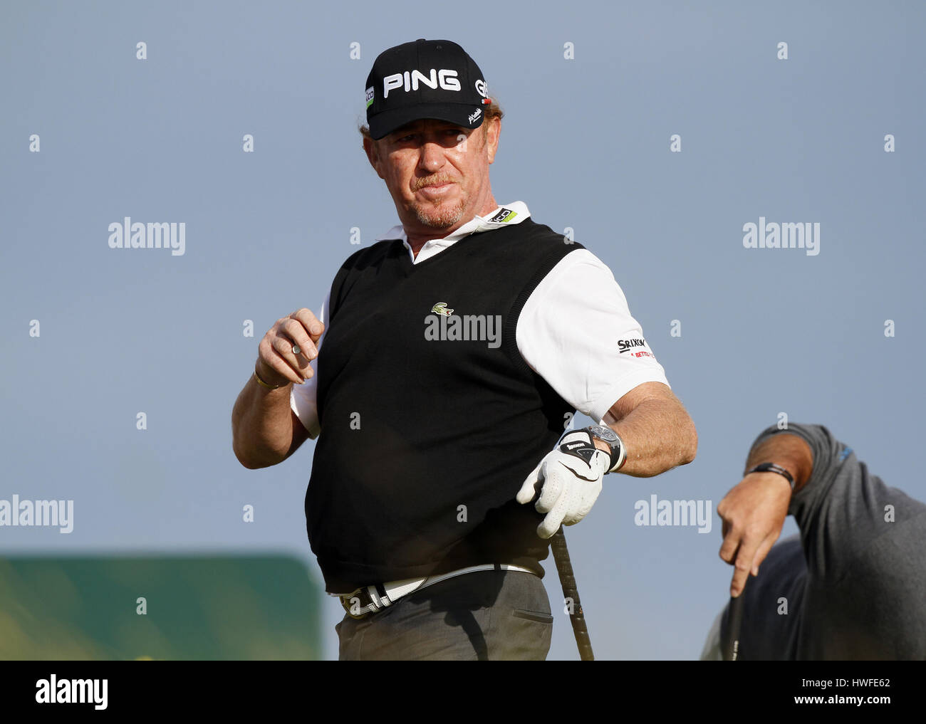 MIGUEL ANGEL JIMENEZ SPAIN SPAIN ROYAL ST.GEORGE'S SANDWICH KENT ENGLAND 16 July 2011 - Stock Image