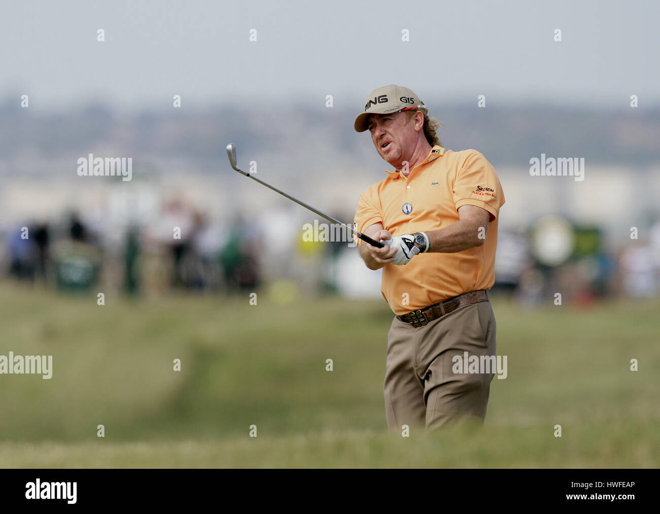 MIGUEL ANGEL JIMENEZ SPAIN SPAIN ROYAL ST.GEORGE'S SANDWICH KENT ENGLAND 15 July 2011 - Stock Image