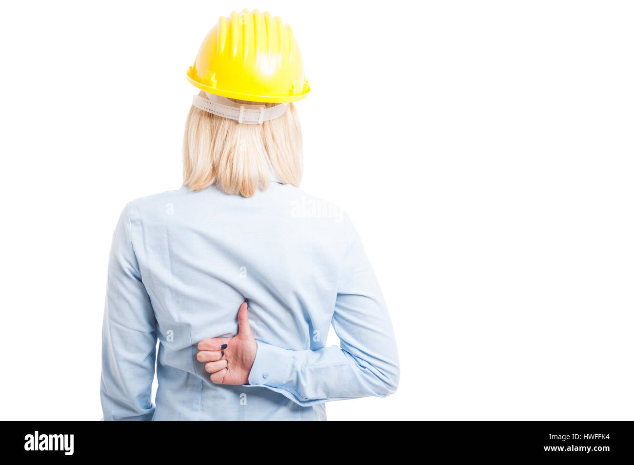 Helmet Like Stock Photos Images Alamy The Iron Bar In Uquot Shape With Dimensions As Shown Diagram Female Engineer Back Showing Gesture Wearing Yellow Isolated On White Background Copy Text