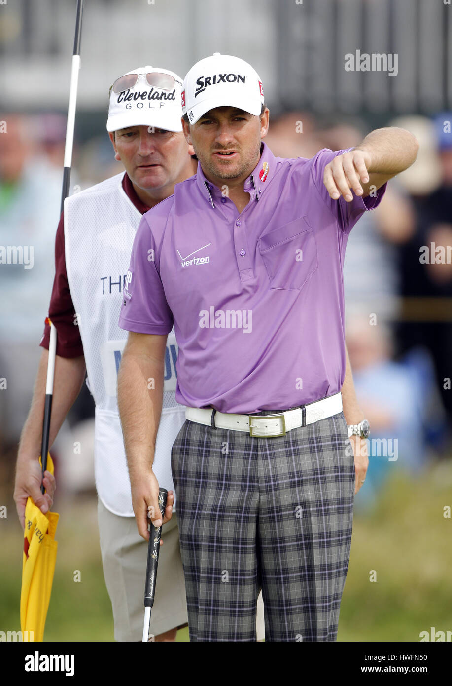 GRAEME MCDOWELL NORTHERN IRELAND NORTHERN IRELAND LYTHAM & ST.ANNES LANCASHIRE ENGLAND 21 July 2012 - Stock Image
