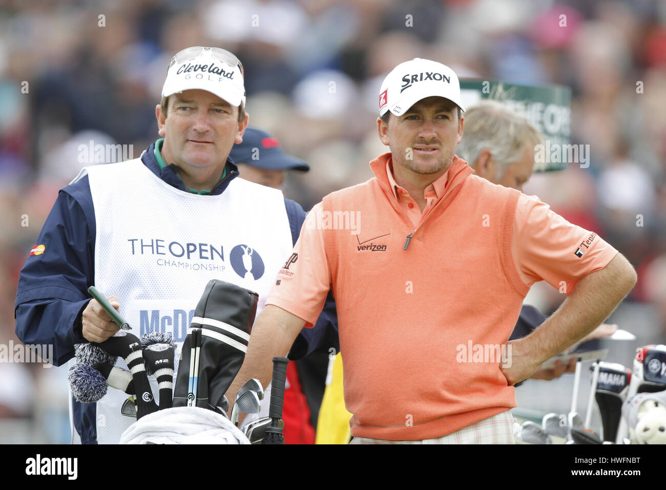 GRAEME MCDOWELL NORTHERN IRELAND NORTHERN IRELAND LYTHAM & ST.ANNES LANCASHIRE ENGLAND 20 July 2012 - Stock Image