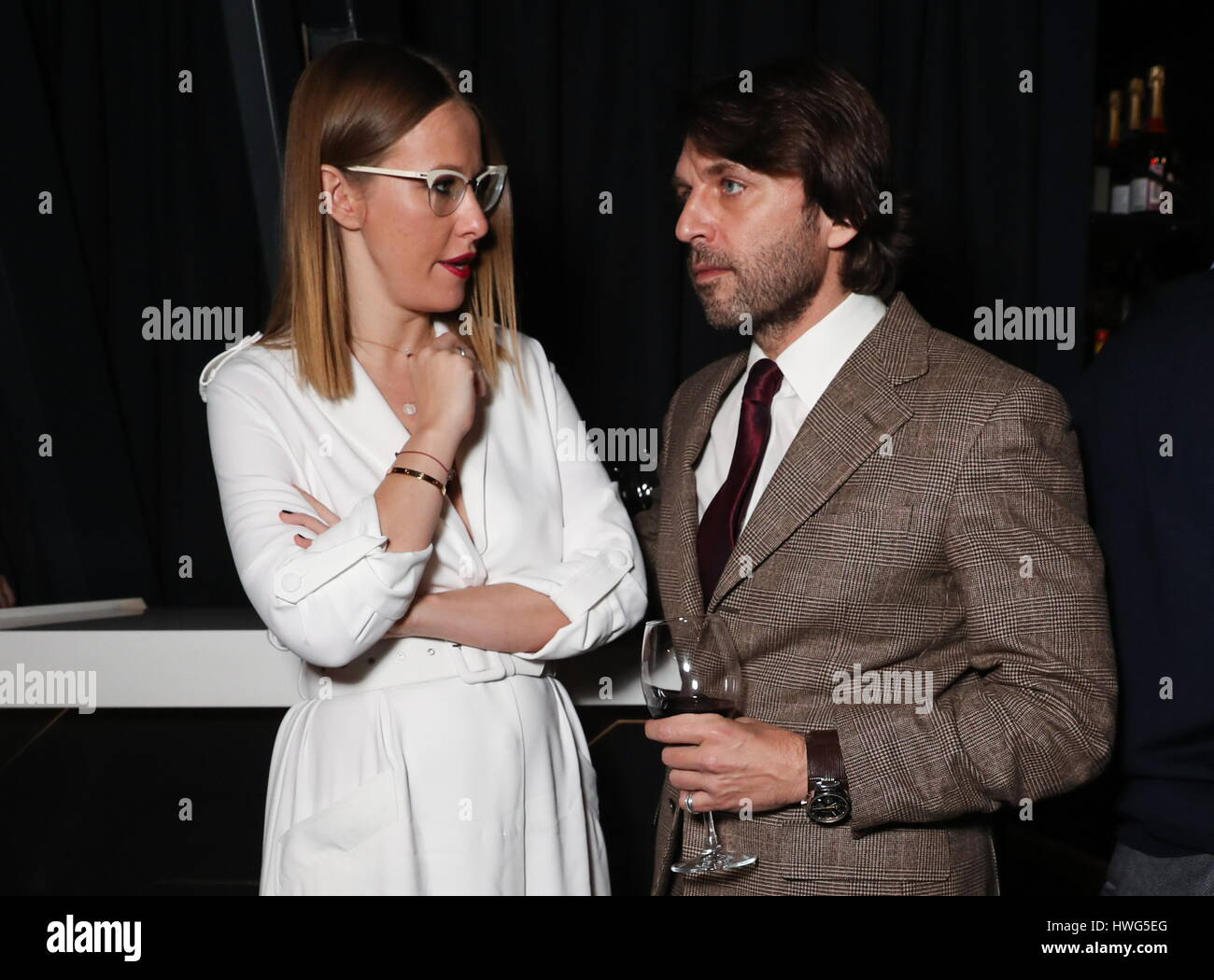 Ksenia Sobchak and Sergey Kapkov split up 05/18/2011 21