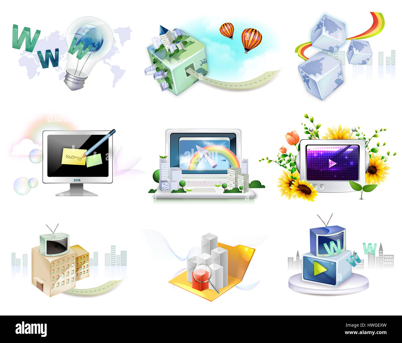 web,www,world wide web,hyper Stock Photo: 136201937 - Alamy