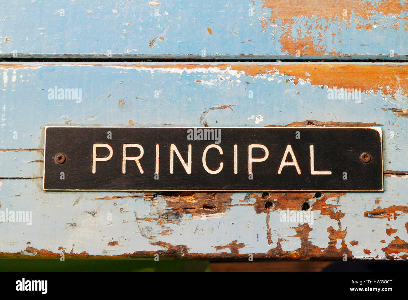Retro Grunge Principal Office Stock Photo 44462844 - Megapixl