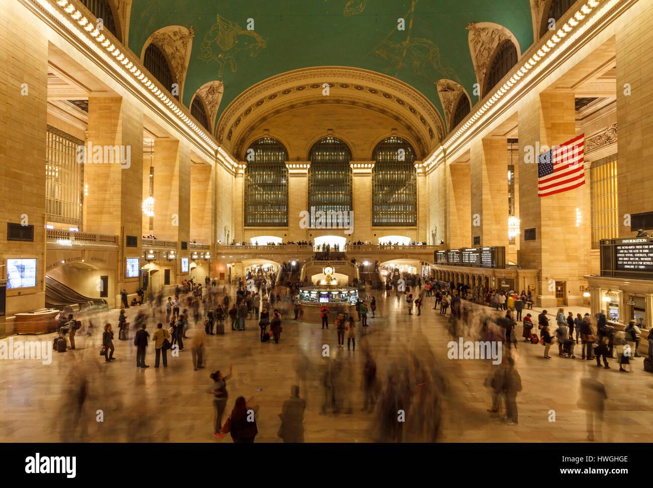 Grand Central Terminal, Manhattan, New York City, New York, USA - Stock Image
