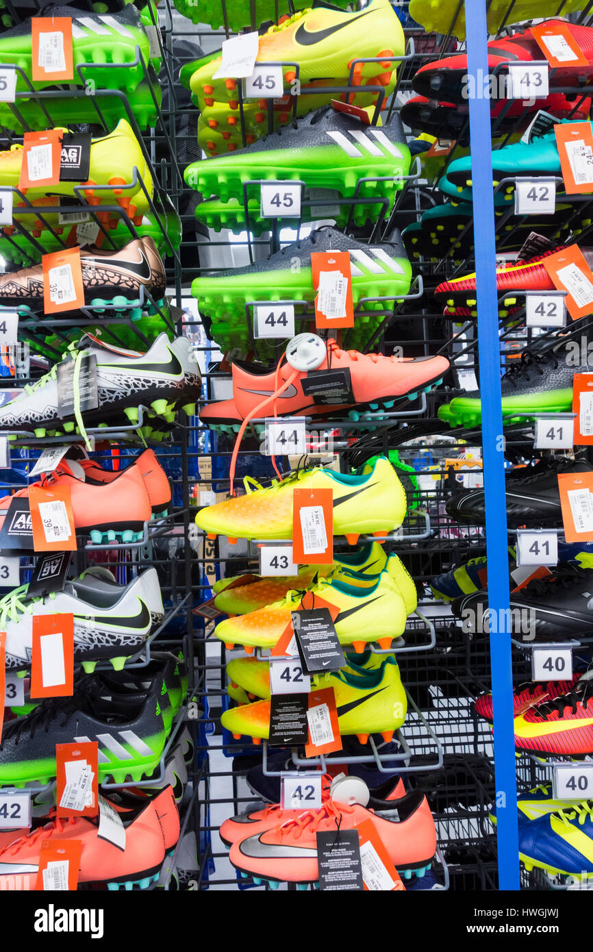 a27a1581455d Nike Football Boots Stock Photos & Nike Football Boots Stock Images ...