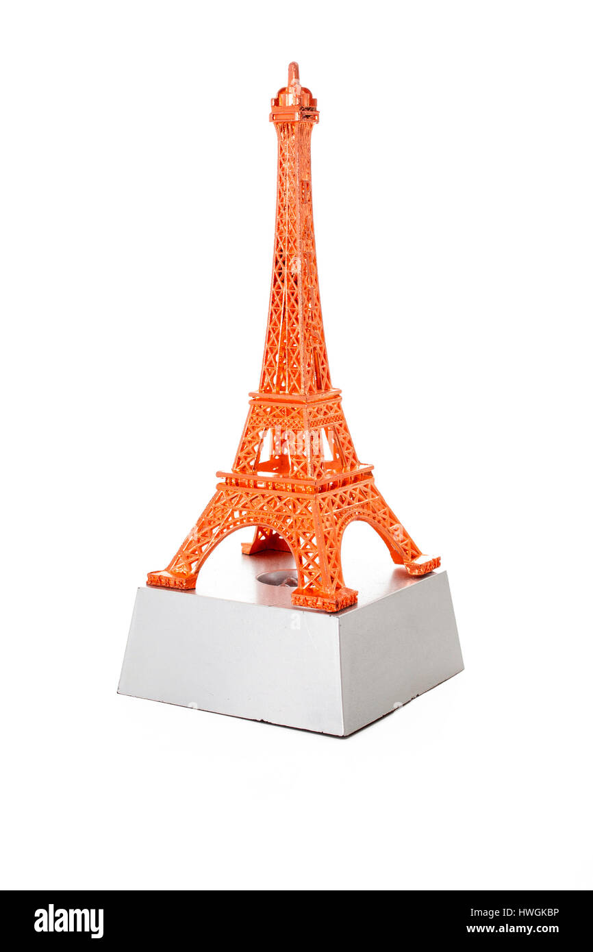 Eiffel tower from paris. Souvenir - Stock Image