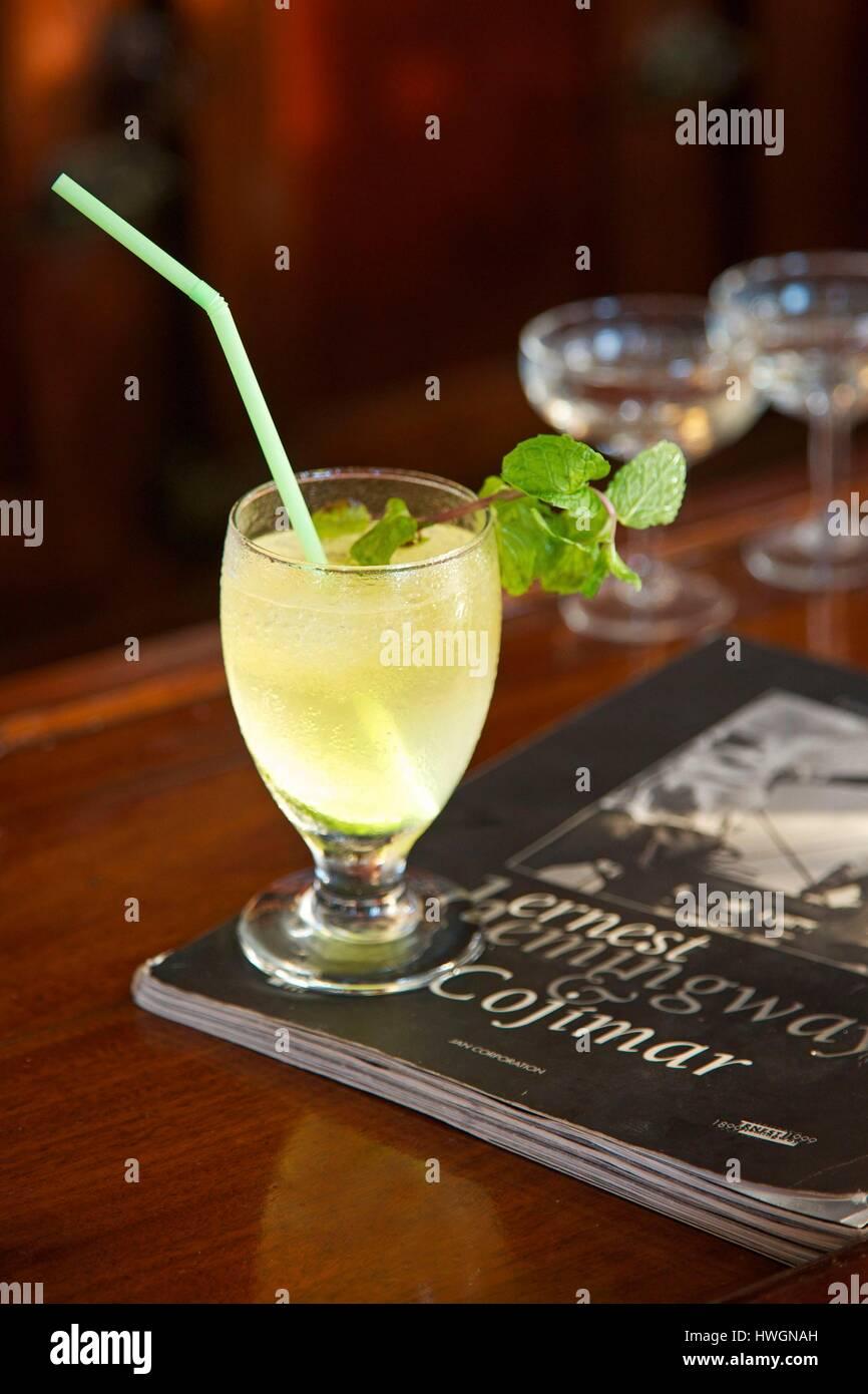 Cuba Cojimar Cocktail Of The Terraza De Cojimar A Bar