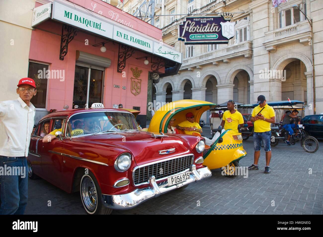 Cuba, La Havana, old Havana, listed as World Heritage by UNESCO, old ...