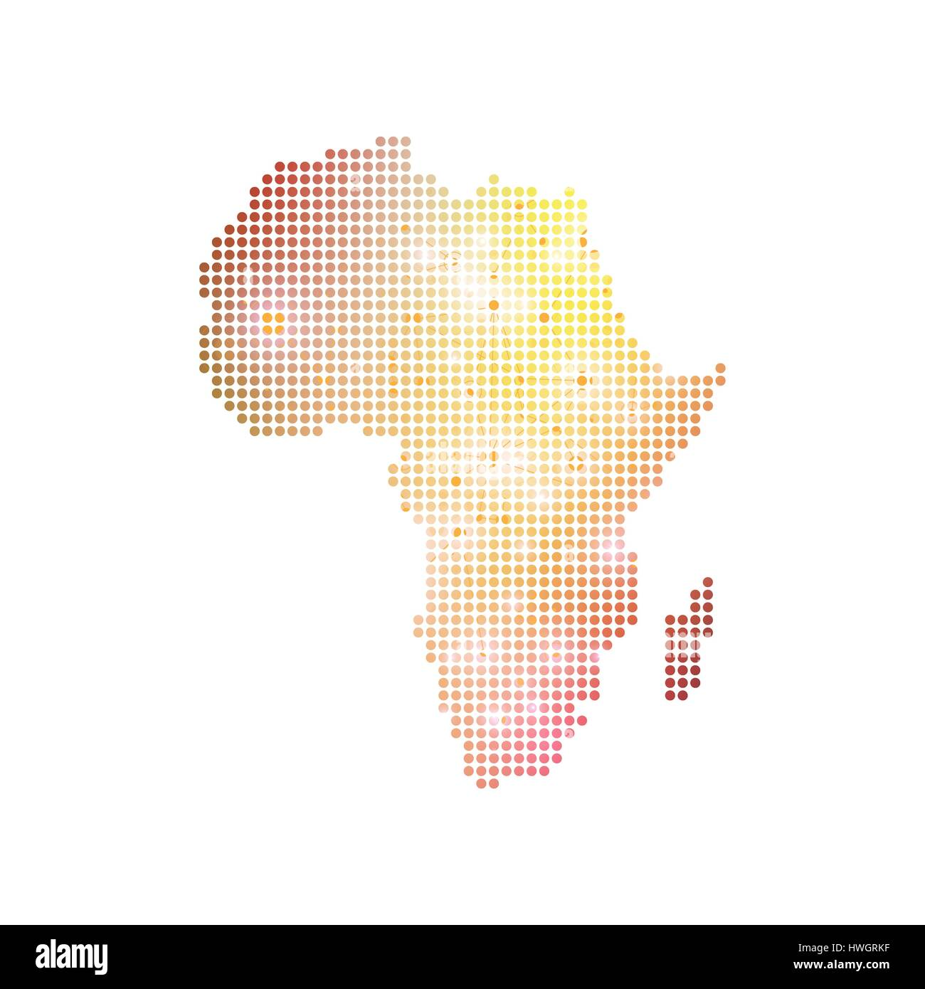 Africa Map Background.Dotted Africa Map Geometric Graphic Background Communication Big