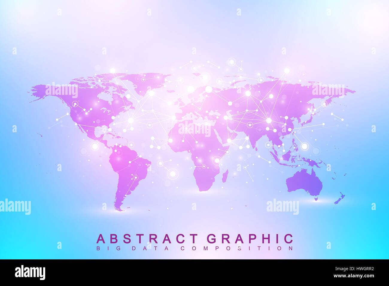Political world map geometric graphic background communication big big data complex with compounds perspective backdrop digital data visualization minimalistic chaotic design vector illustration political world map gumiabroncs Choice Image