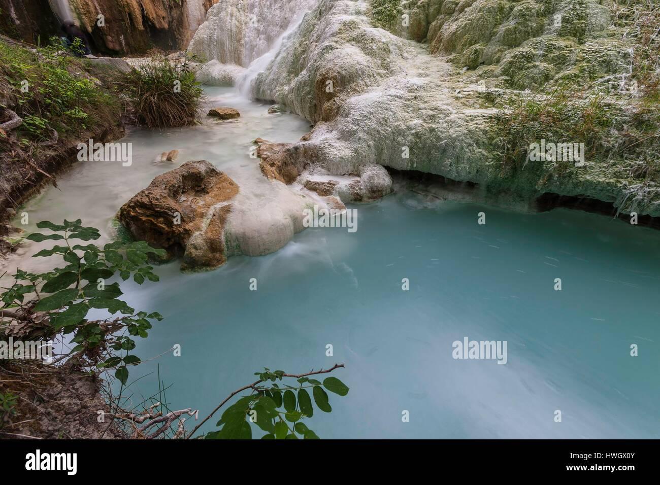 Bagni San Filippo Stock Photos & Bagni San Filippo Stock Images - Alamy
