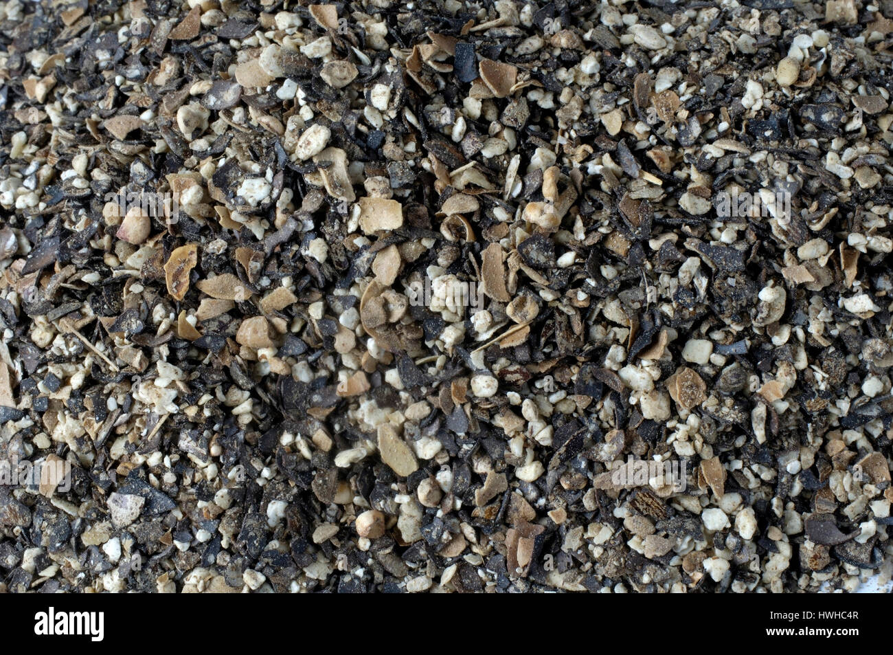 Rizinusschrot natural fertilizer, herbal fertilizer, organic fertilizers  , Rizinusschrot Naturduenger, Pflanzlicher - Stock Image
