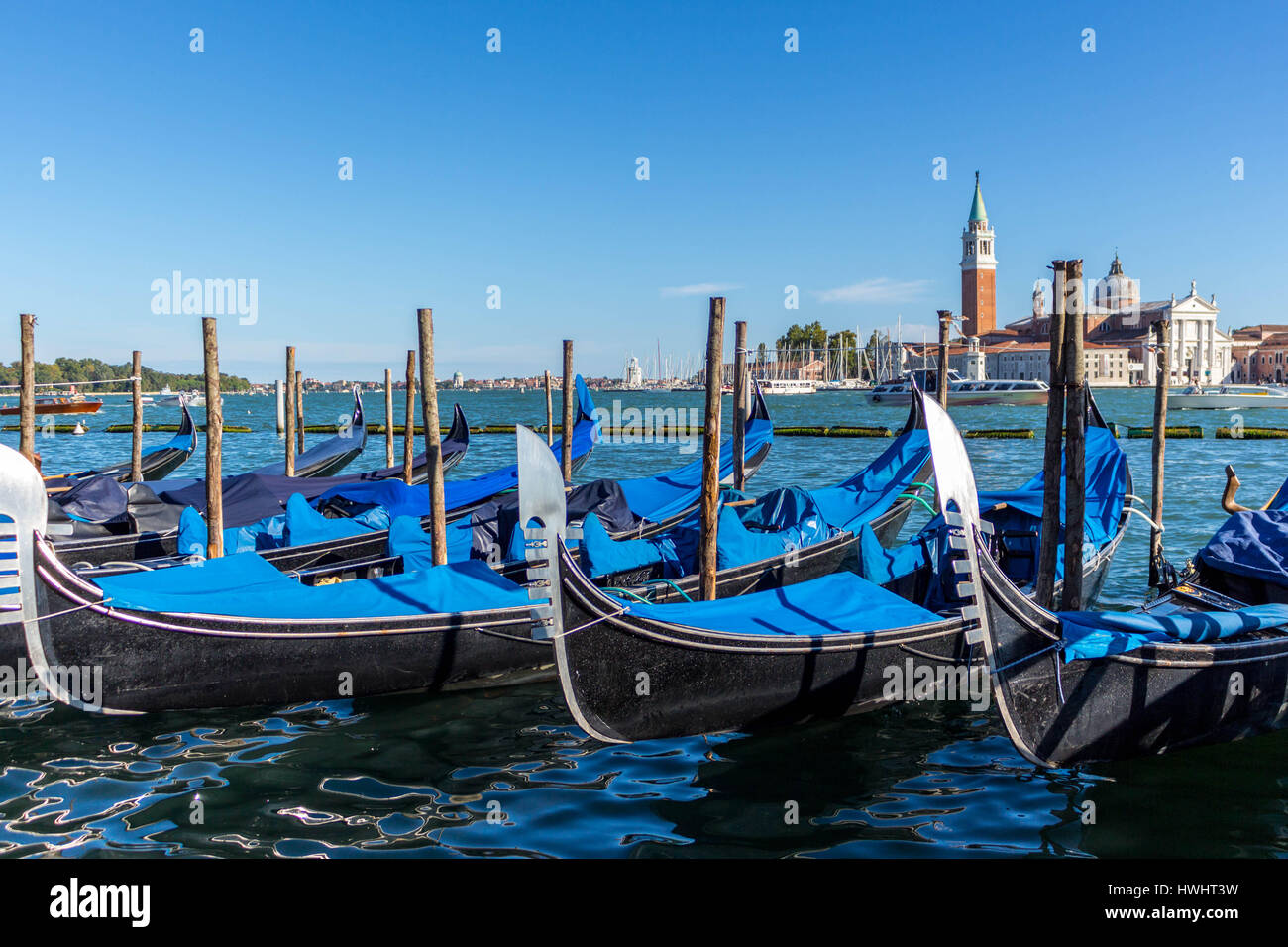 Venedig Gondeln - Stock Image