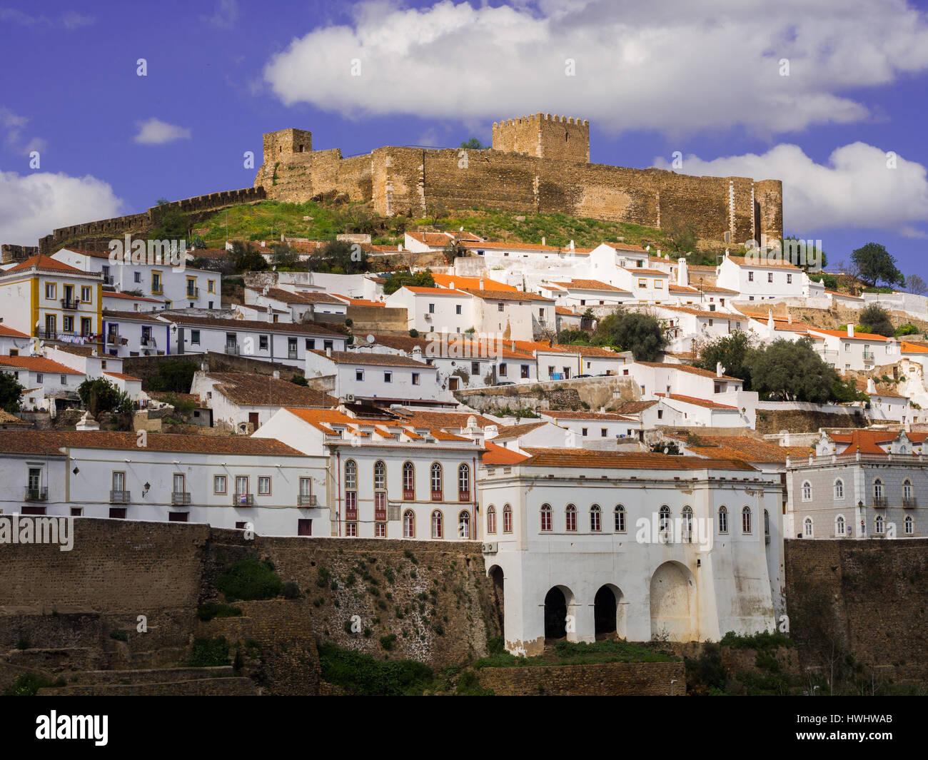 Mertola in Alentejo region in south Portugal Stock Photo: 136232051 - Alamy
