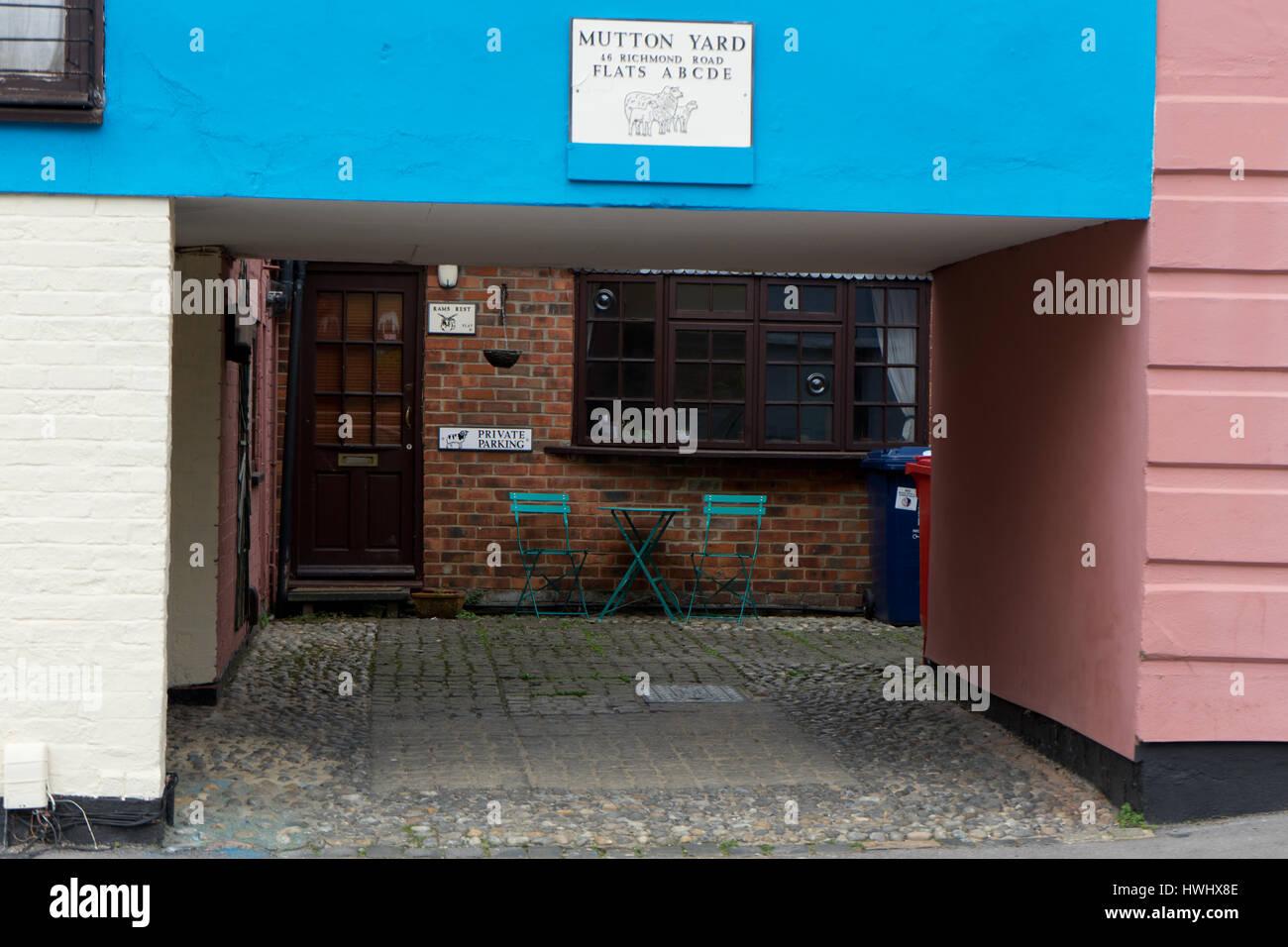Mutton Yard! - Stock Image