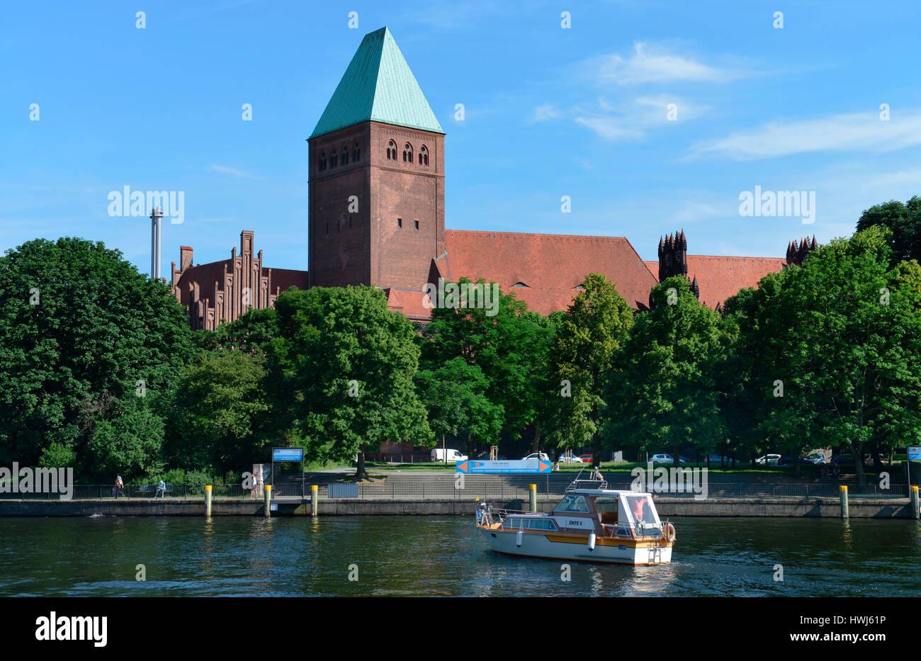 Maerkisches Museum, Am Koellnischen Park, Mitte, Berlin, Deutschland, Märkisches Museum Stock Photo