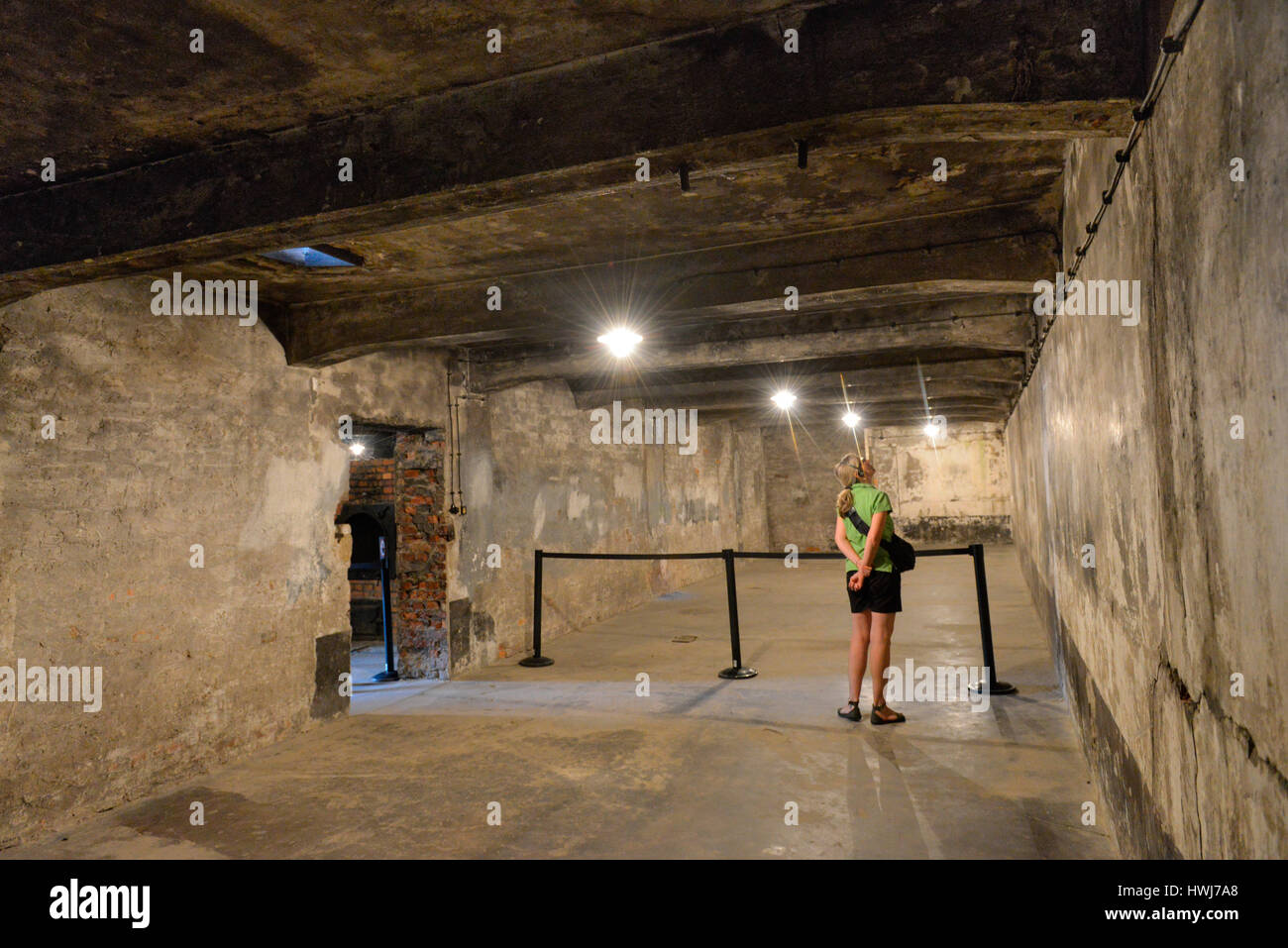 Arco Gas >> Gaskammer, Stammlager I, Konzentrationslager, Auschwitz-Birkenau Stock Photo: 136239888 - Alamy