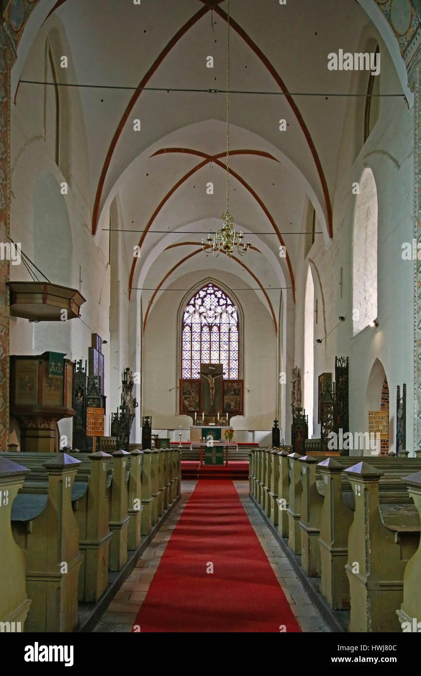St Marien's church of Anklam, Mecklenburg-West Pomerania, Germany - Stock Image