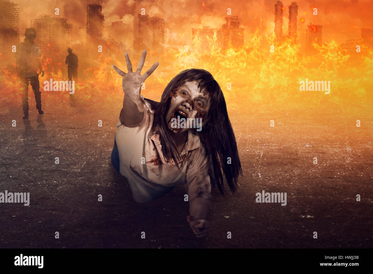 Unduh 8100 Koleksi Background Zombie HD Terbaik