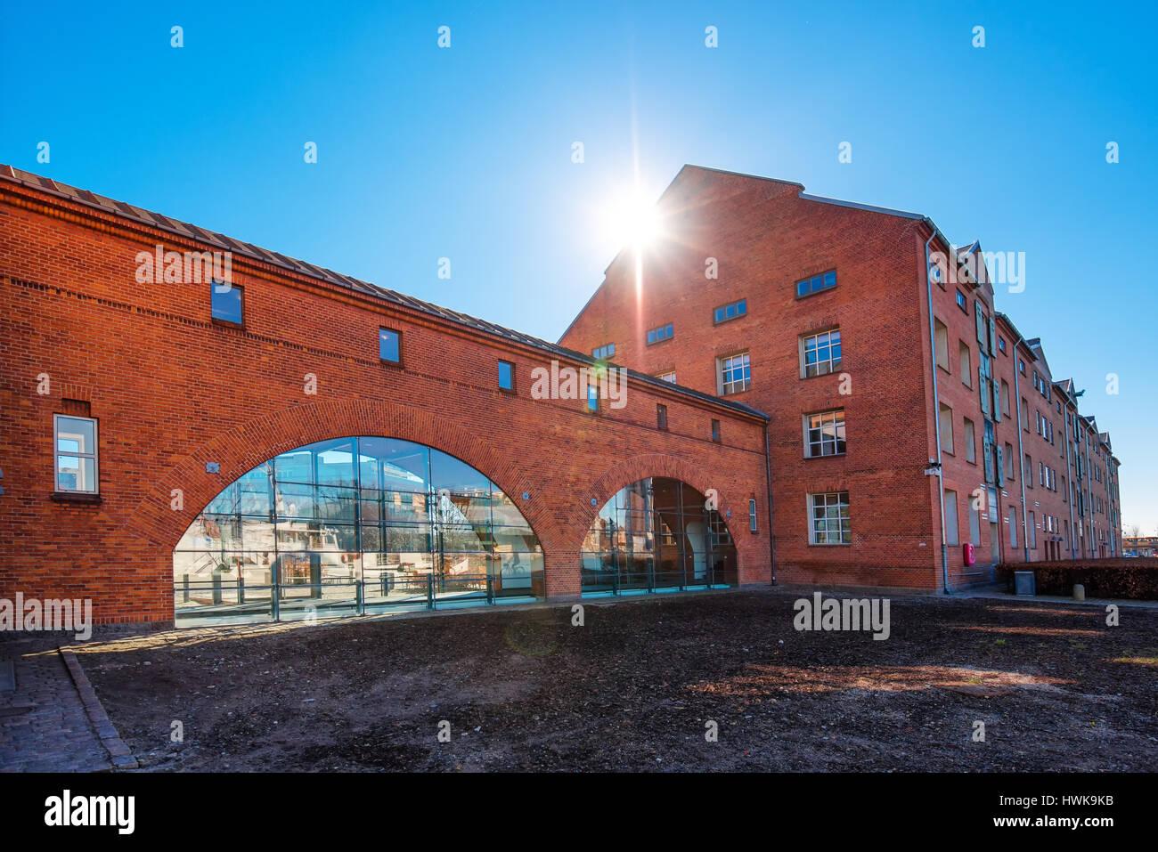 COPENHAGEN, DENMARK - MARCH 11, 2017: DuPont Nutrition Biosciences building in Copenhagen - Stock Image