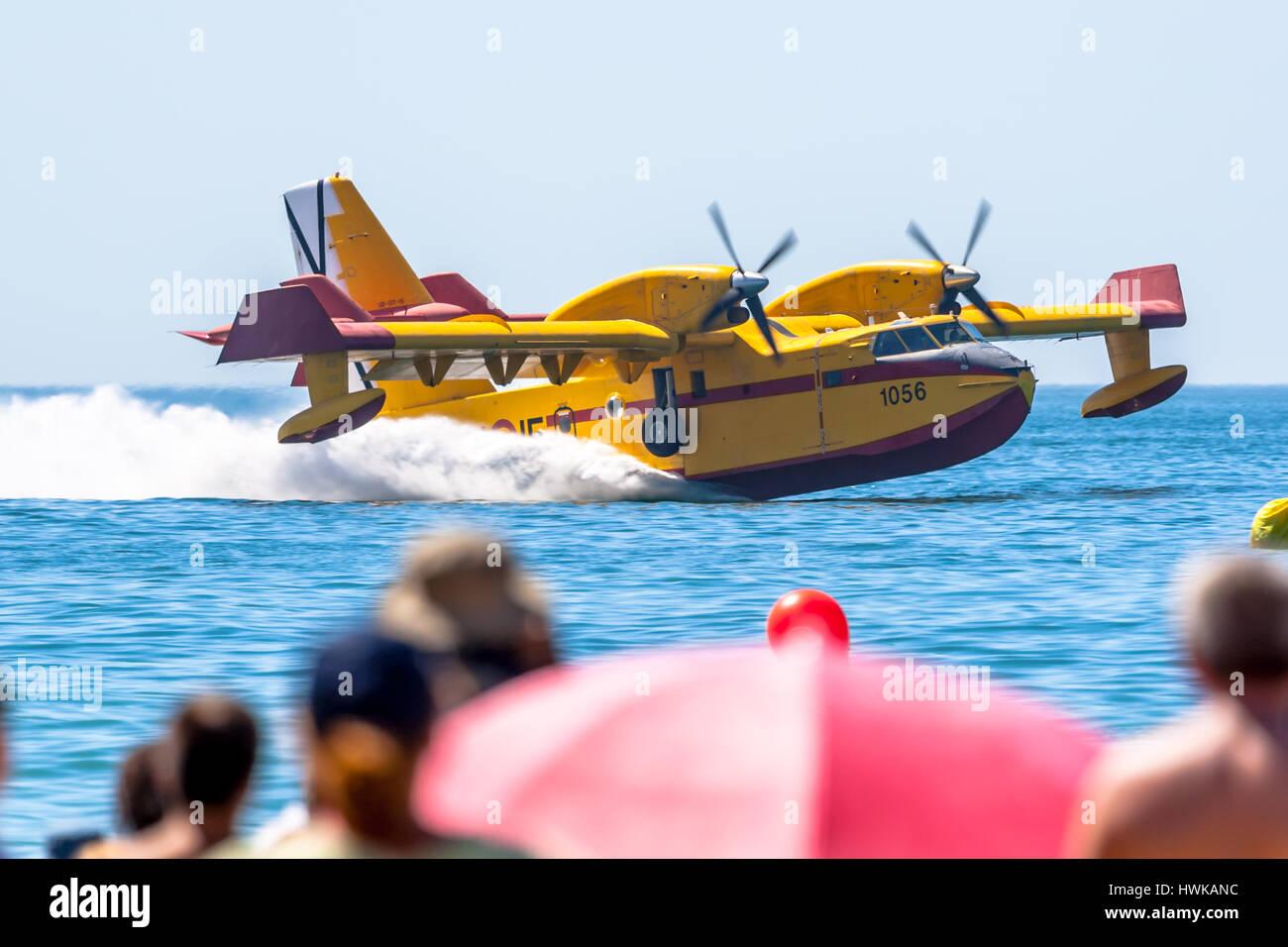 I Airshow Of Cadiz Stock Photos & I Airshow Of Cadiz Stock Images