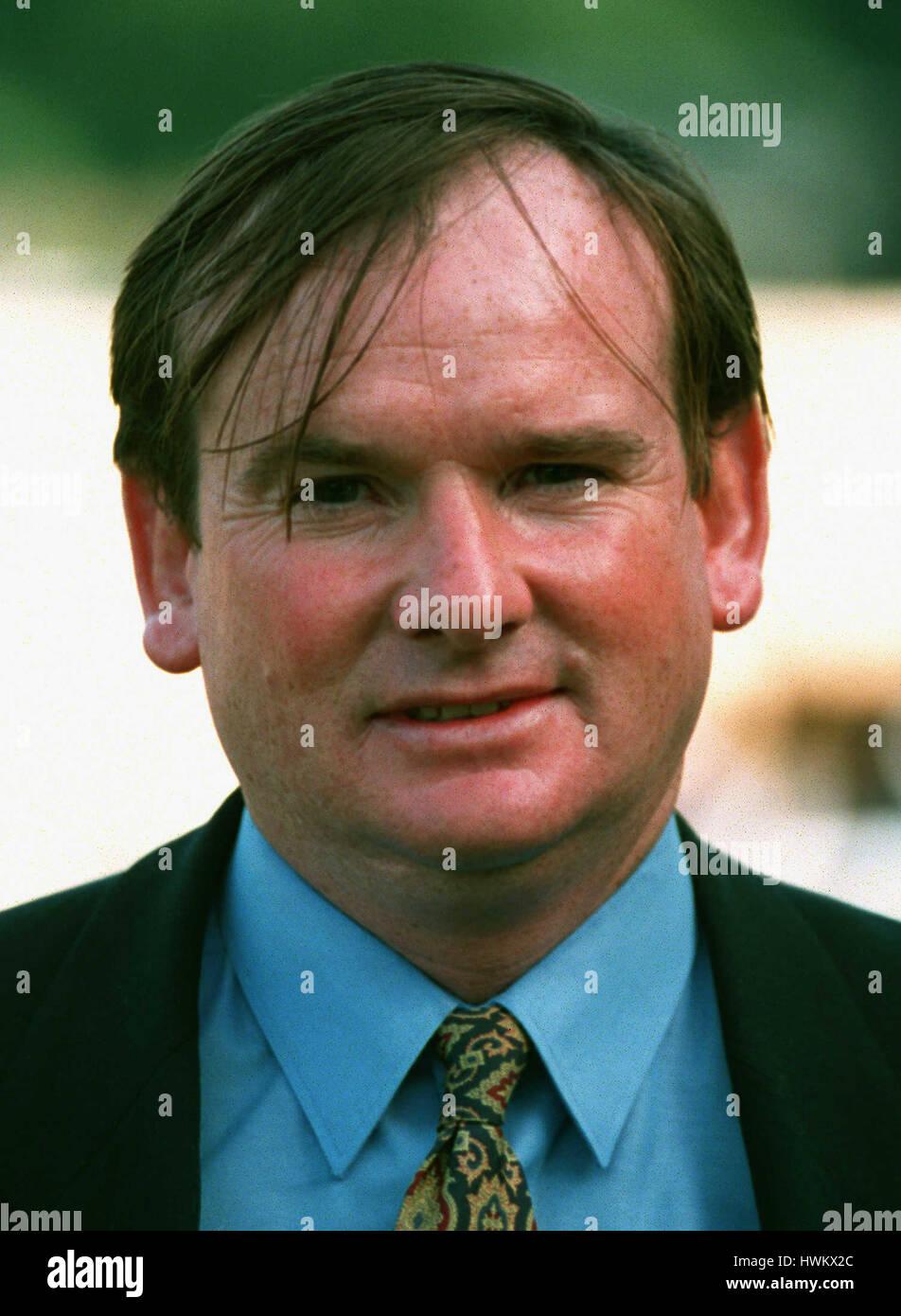 JOHN WHITE RACE HORSE TRAINER 23 September 1994 - Stock Image