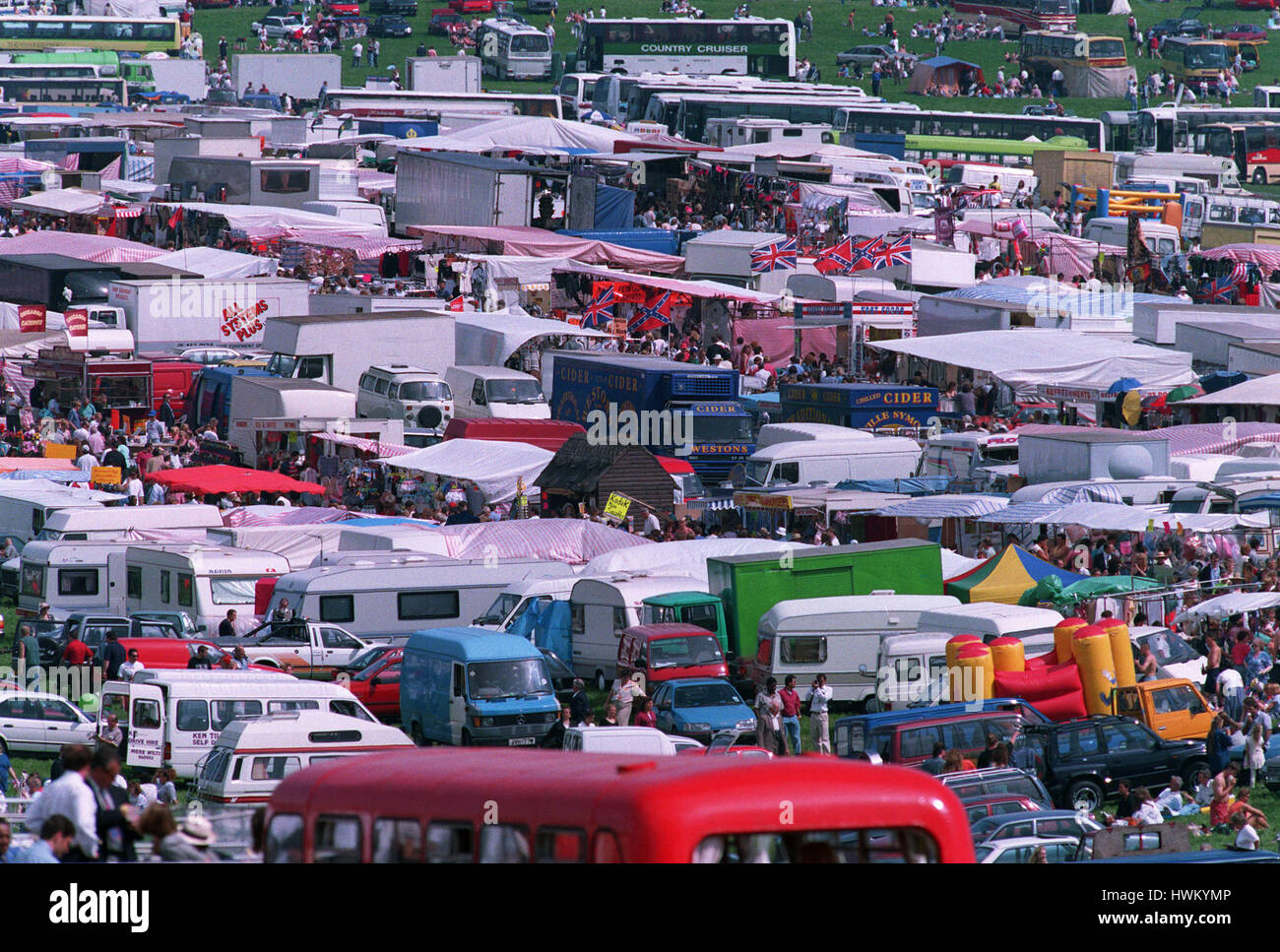 EPSOM DERBY GENERAL VIEW 25 August 1994 - Stock Image