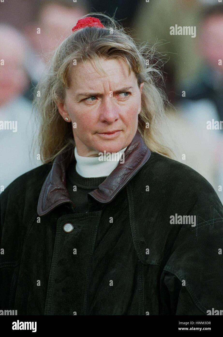 S.J.SMITH RACE HORSE TRAINER 17 October 1996 - Stock Image