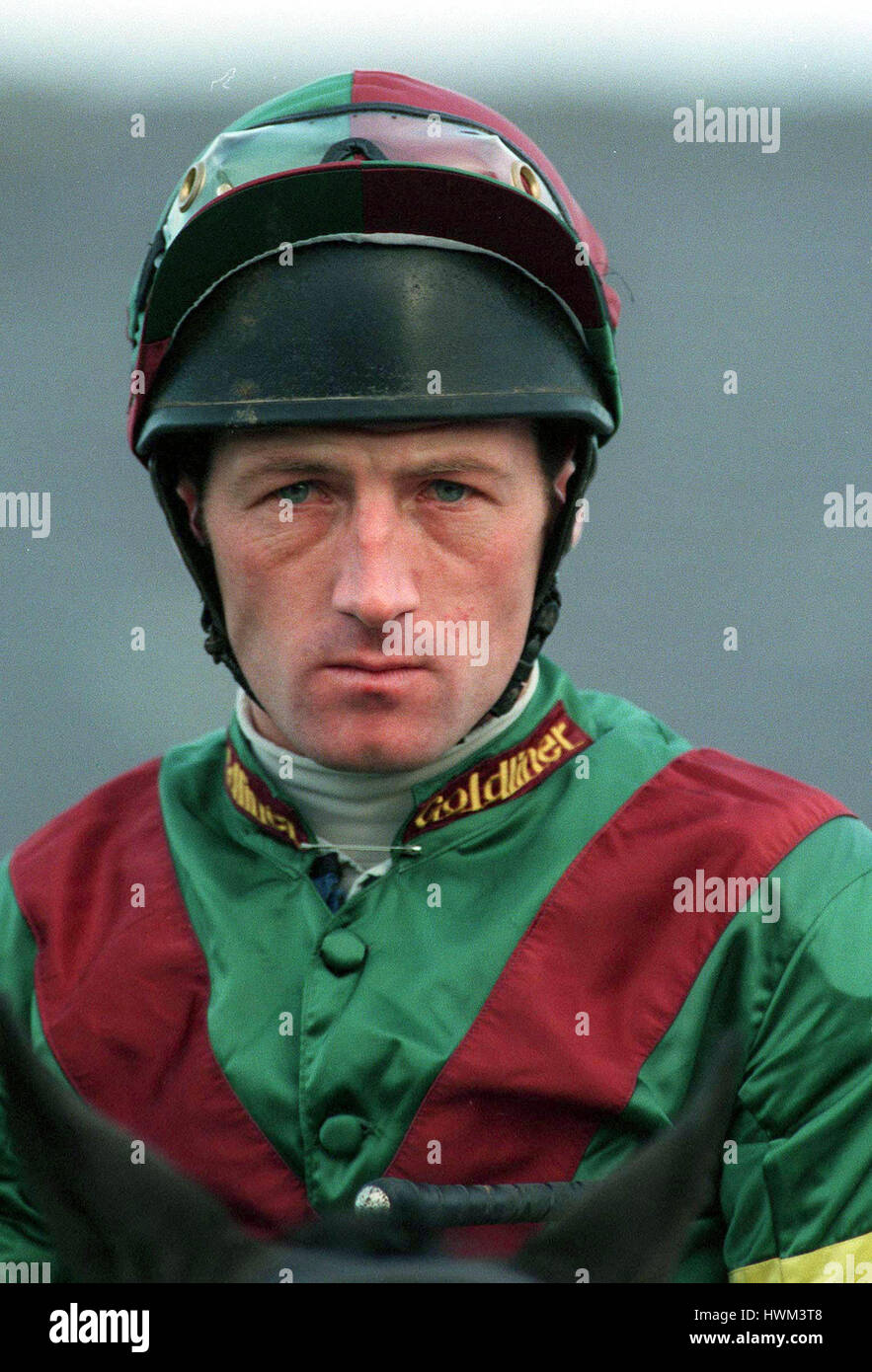 Gary Lyons Jockey 11 December 1996 Stock Photo 136281048 Alamy