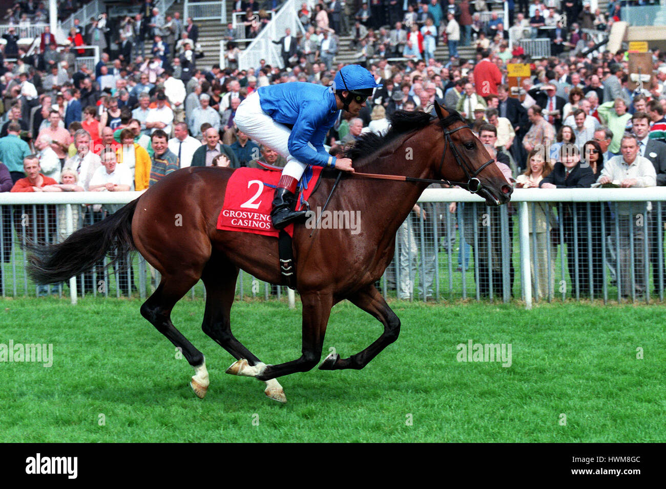 CITY HONOURS RIDDEN BY L.DETTORI 14 May 1998 - Stock Image