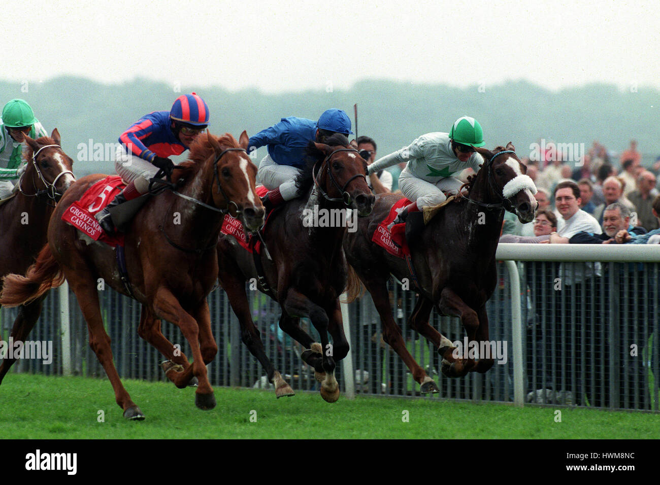 SARATOGA SPRINGS BORDER ARROW CITY HONOURS DANTE STAKES 1998 14 May 1998 - Stock Image