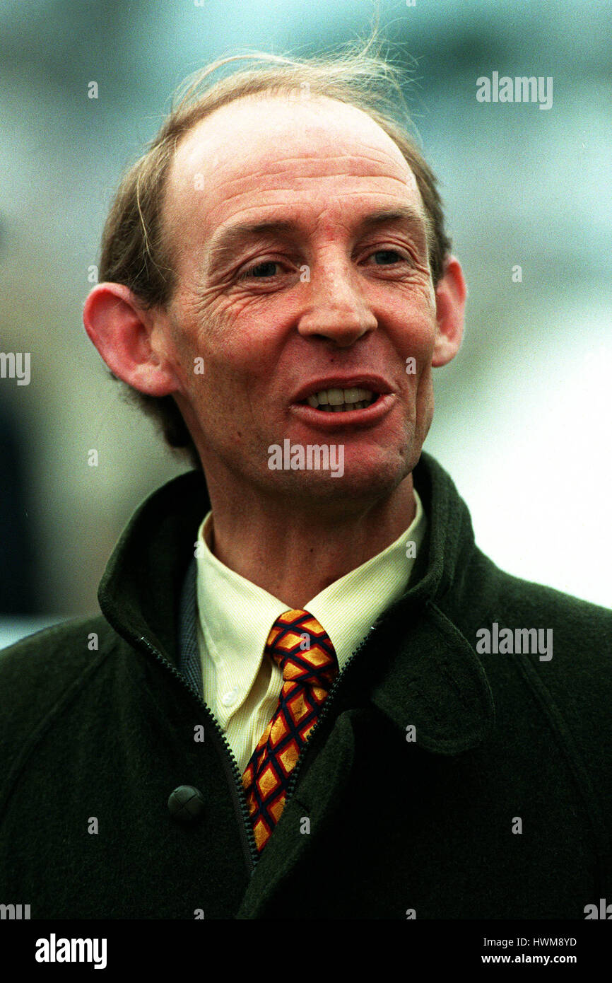 PARTICK MURPHY RACE HORSE TRAINER 24 March 1998 - Stock Image