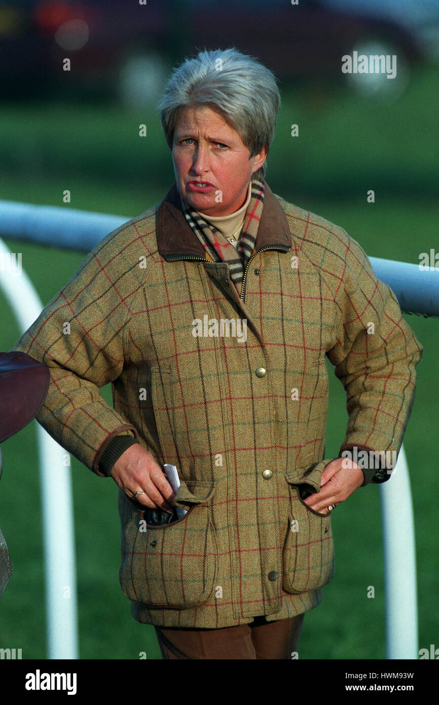 S.J.SMITH RACE HORSE TRAINER 18 November 1998 - Stock Image