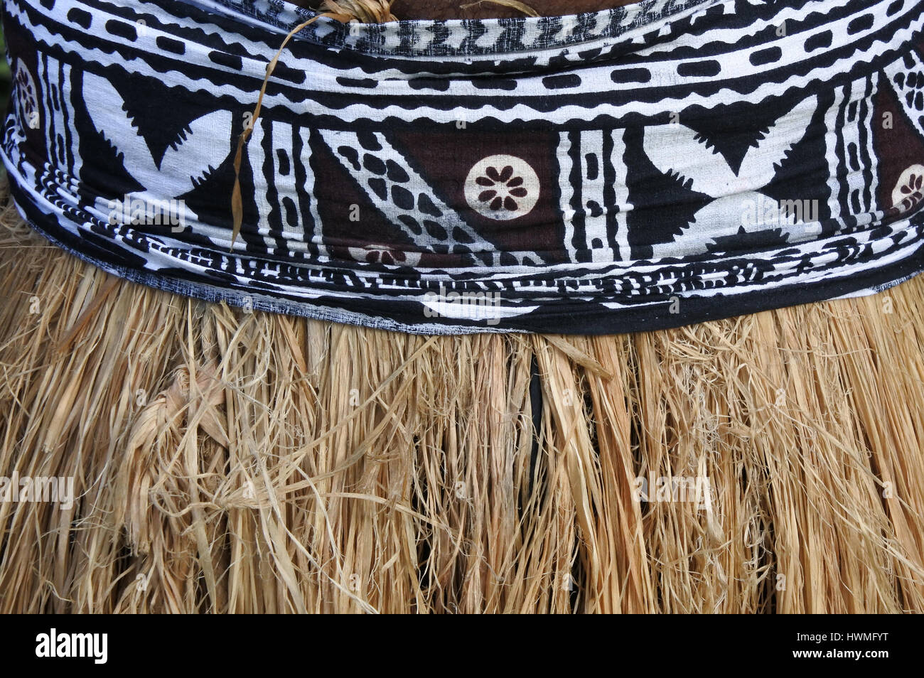52bfd48ead4 Background of traditional Pacific Island straw skirt and tapa cloth ...