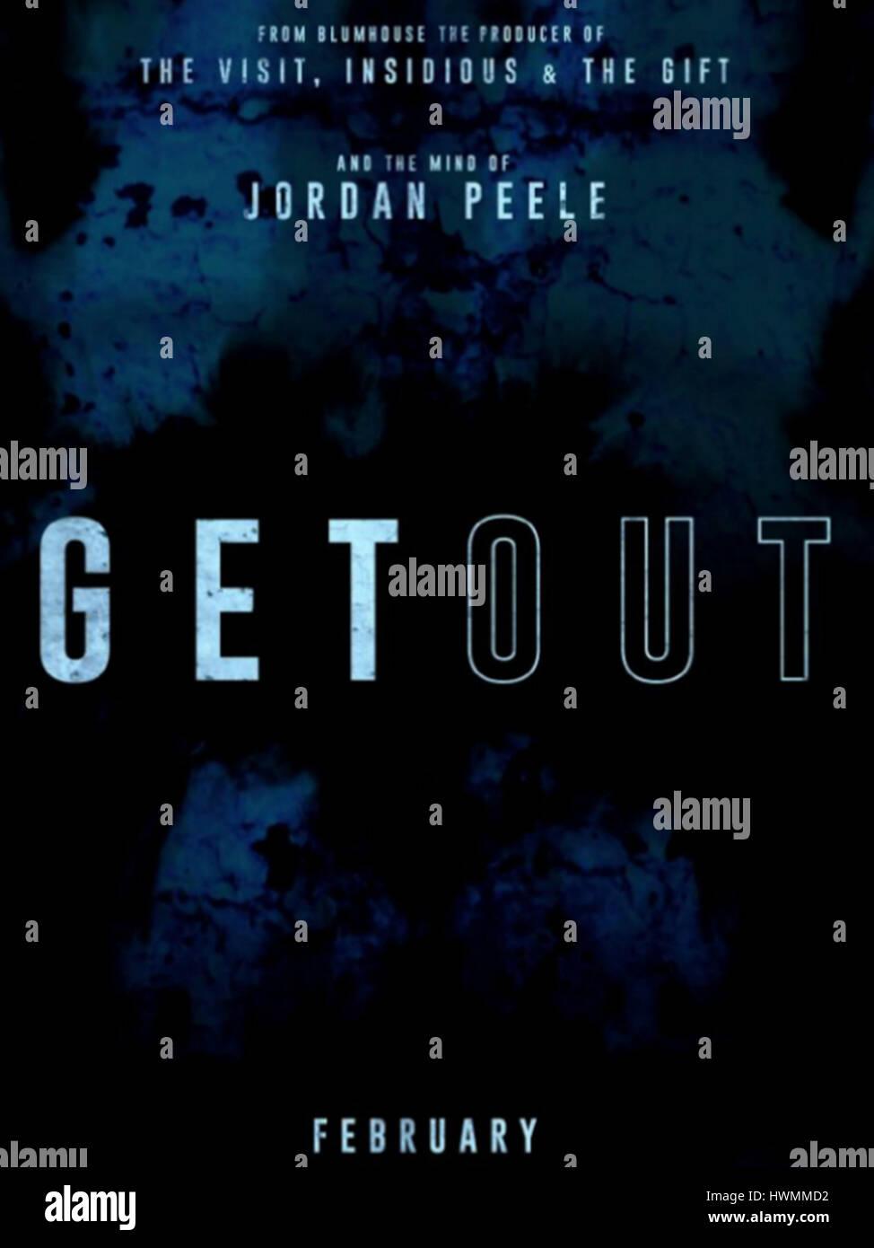 GET OUT (2017) JORDAN PEELE (DIR) WARNER BROS/MOVIESTORE COLLECTION LTD - Stock Image