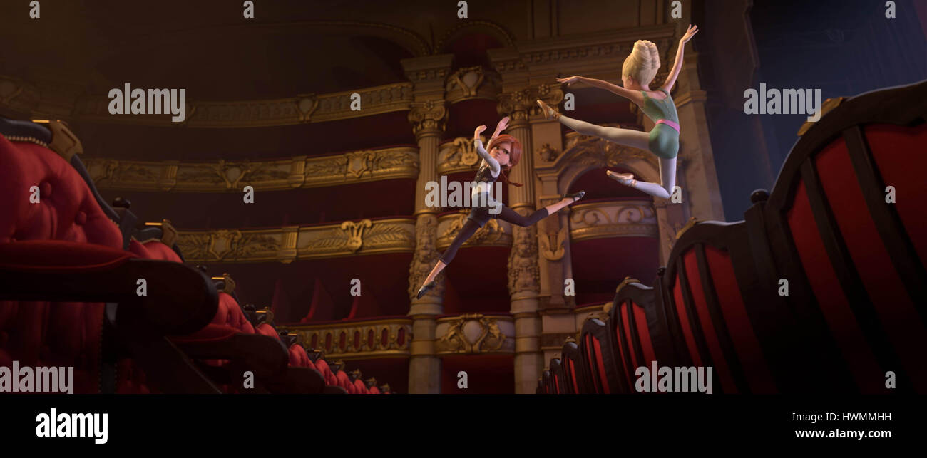 LEAP! (ORIGINAL TITLE: BALLERINA) (2016) ERIC SUMMER (DIR) ENTERTAINMENT ONE/MOVIESTORE COLLECTION LTD - Stock Image