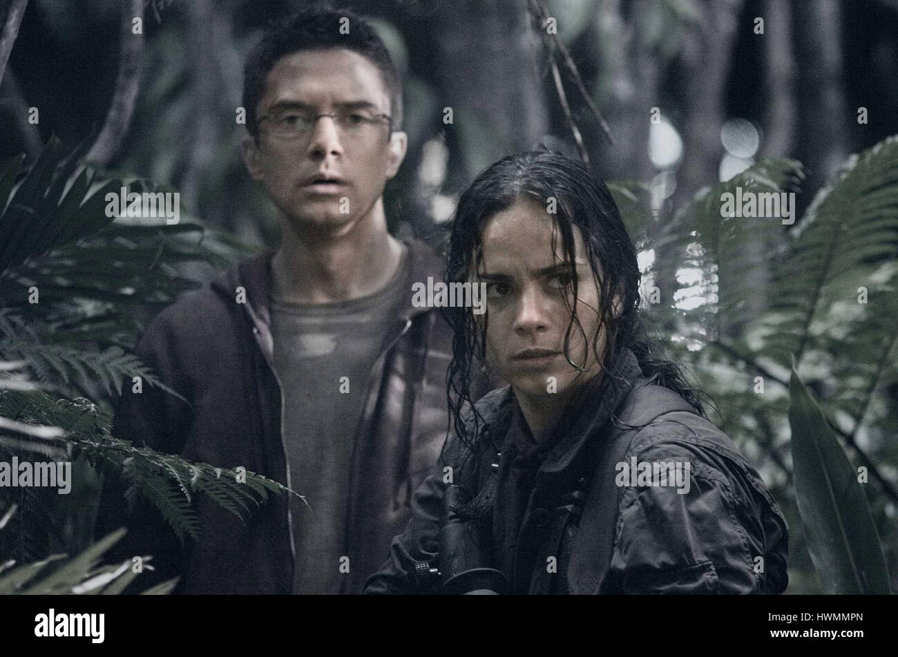 PREDATORS (2010) TOPHER GRACE ALICE BRAGA NIMROD ANTAL (DIR) 20TH CENTURY FOX/MOVIESTORE COLLECTION LTD - Stock Image