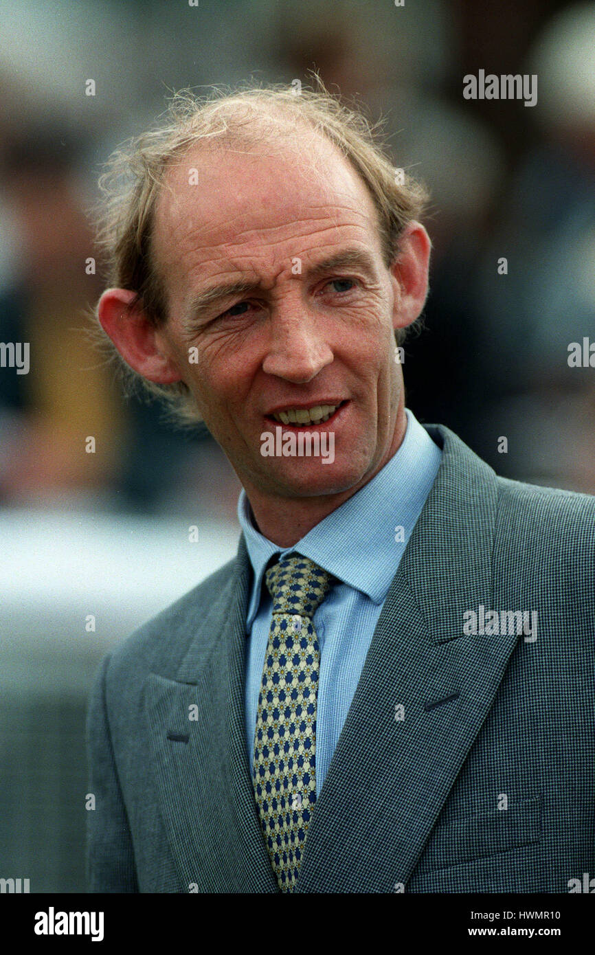 PARTICK MURPHY RACE HORSE TRAINER 13 May 1999 - Stock Image